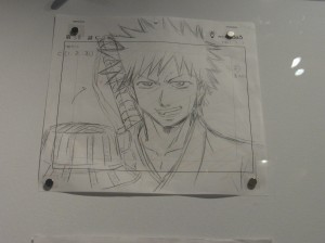 Original sketch of Ichigo from Bleach.